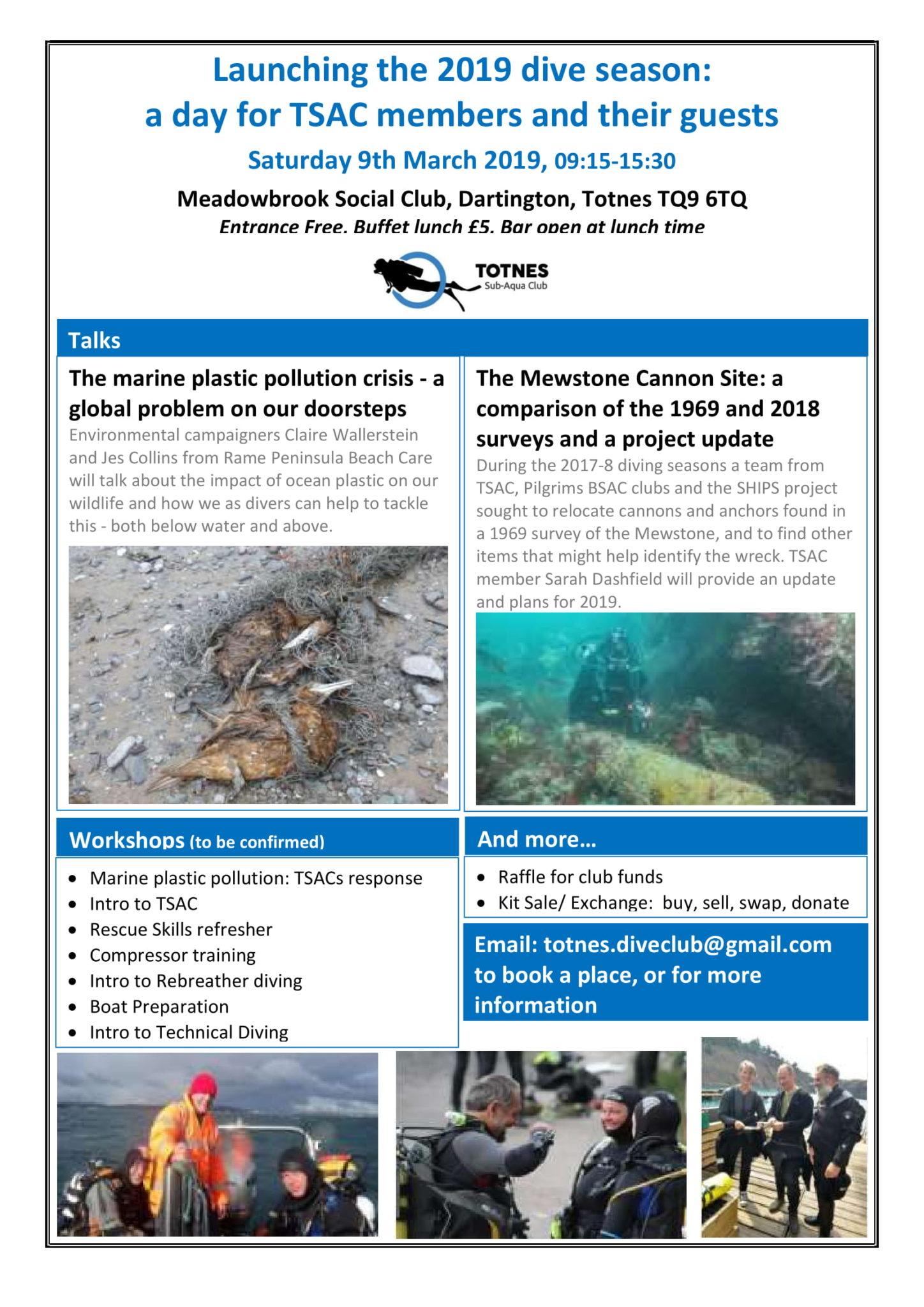 Totnes Sub Aqua Club Day Flyer