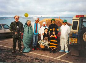 Fancy Dress at Shoalstone, Brixham - 1990?
