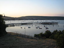 Swanage Pier at Dusk